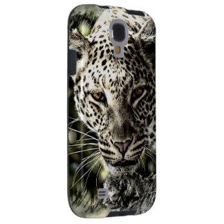 Prowling Leopard Stalking Galaxy S4 Case