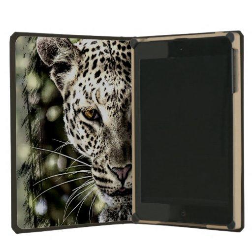 Prowling Leopard Stalking iPad Mini DODOcase iPad Mini Covers