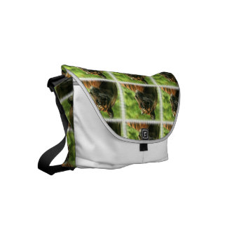 Prowling Tiger Commuter Bag