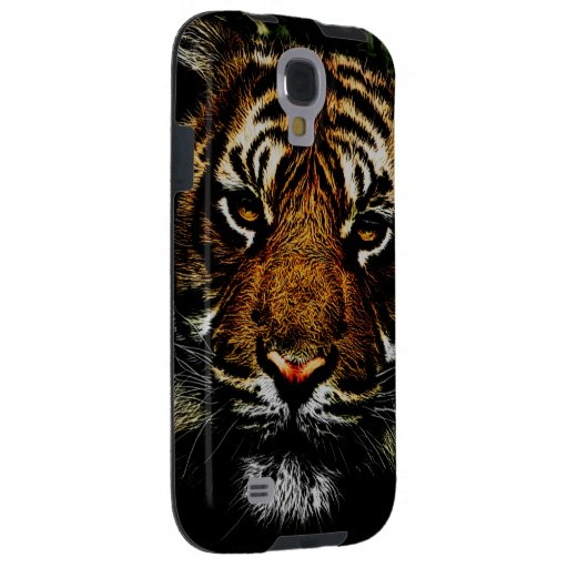 Prowling Tiger Watching Galaxy S4 Case