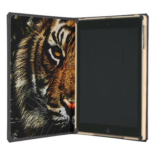 Prowling Tiger Watching iPad Air (DODO) Case Cover For iPad Air