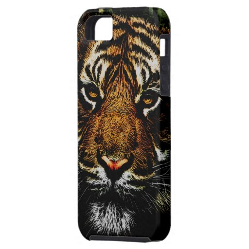 Prowling Tiger Watching iPhone 5/5s Case