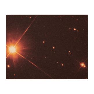 Proxima Centauri - Hubble Wood Canvas