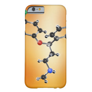 Prozac. Molecular model of the antidepressant Barely There iPhone 6 Case