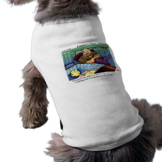 Prozac Time Over Funny Gifts & Collectibles Sleeveless Dog Shirt