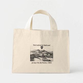 PRR Jersey City NJ Station 1893 Mini Tote Bag
