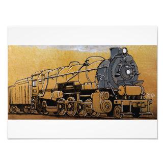 PRR L1s Mikado Steam Locomotive Photo Art