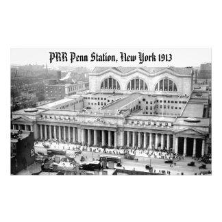 PRR New York Penn Station Kodak Photo Enlargement