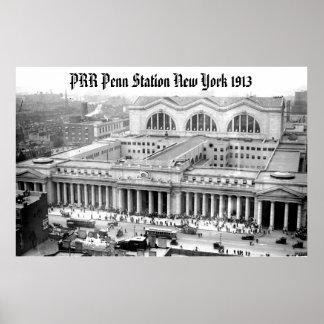 PRR New York Penn Station Poster