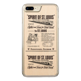PRR Streamliner Spirit of St. Louis Carved iPhone 7 Plus Case