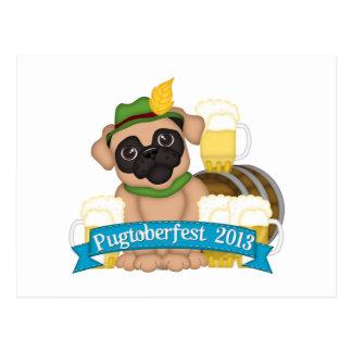 PRSDC Pugtoberfest 3 Postcard
