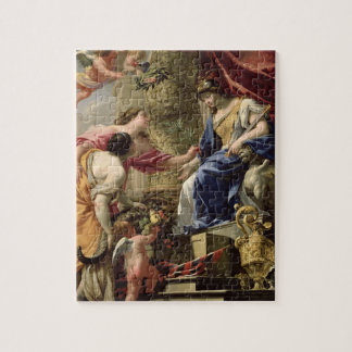 Prudence Leading Peace and Abundance, c.1645 (oil Jigsaw Puzzle