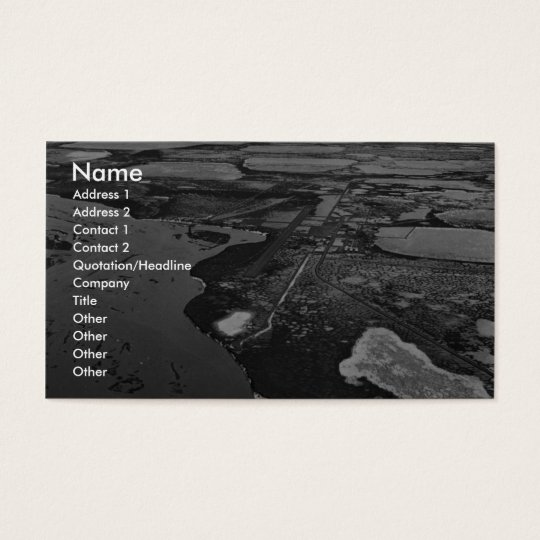 Prudhoe Bay Oil Fields Business Card