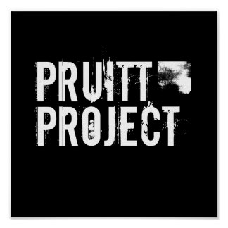 PRUITT PROJECT logo Poster