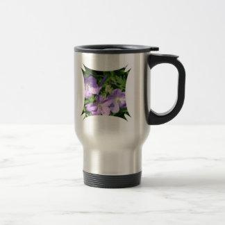 Pruning Geraniums Stainless Steel Mug