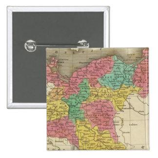 Prussia 2 15 cm square badge