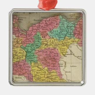 Prussia 2 Silver-Colored square decoration