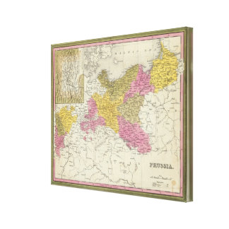 Prussia 3 canvas print