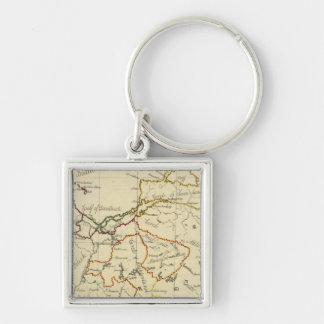 Prussia 3 key ring