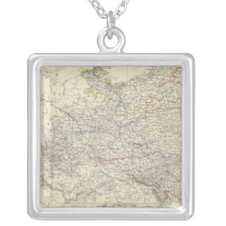 Prussia 3 silver plated necklace