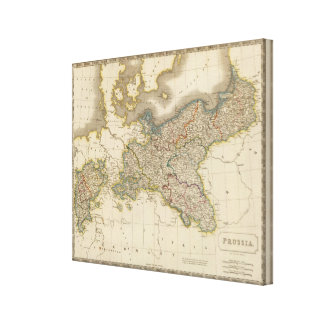 Prussia 4 canvas print