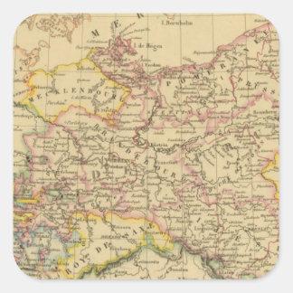 Prussia 4 square sticker