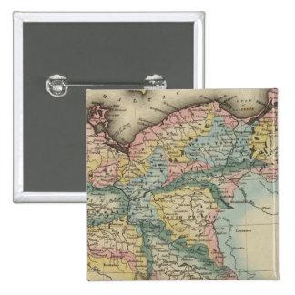 Prussia 5 15 cm square badge