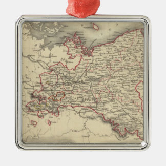 Prussia 5 christmas ornament