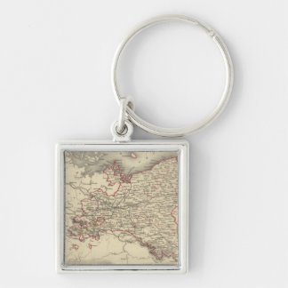 Prussia 5 key ring