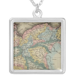Prussia 5 silver plated necklace