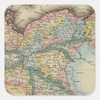 Prussia 5 square sticker