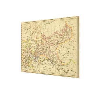 Prussia 6 canvas print