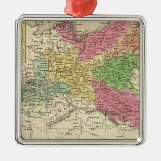 Prussia 6 Silver-Colored square decoration
