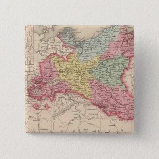 Prussia 7 15 cm square badge