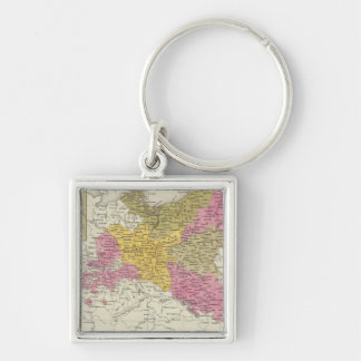 Prussia 7 key ring