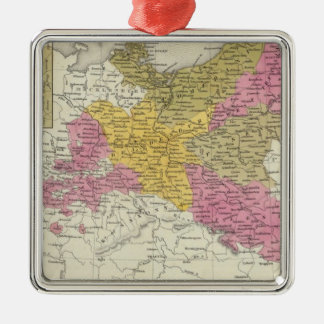 Prussia 7 Silver-Colored square decoration