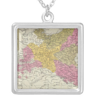 Prussia 7 silver plated necklace