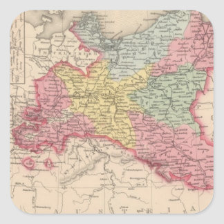 Prussia 7 square sticker