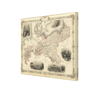 Prussia 8 canvas print