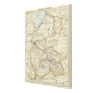 Prussia and Poland 2 Canvas Print