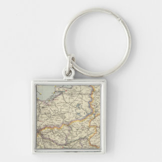 Prussia and Poland 2 Key Ring