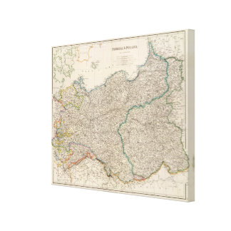 Prussia and Poland Canvas Print