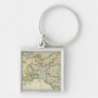 Prussia and Poland Key Ring