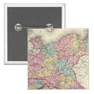 Prussia And Saxony 15 Cm Square Badge