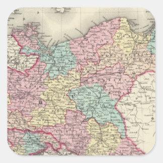 Prussia And Saxony Square Sticker