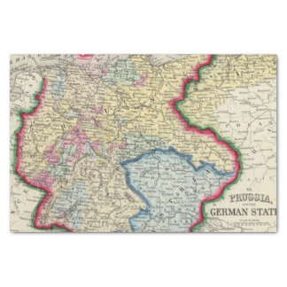Prussia, And The German States Tissue Paper