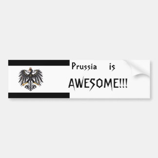 Prussia Bumpersticker Bumper Sticker