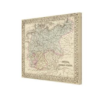 Prussia, German States Canvas Print