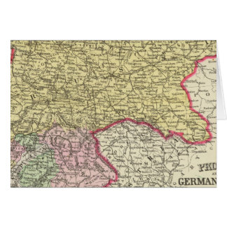 Prussia, German States Card