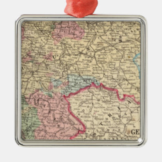 Prussia, German States Map by Mitchell Christmas Ornament
